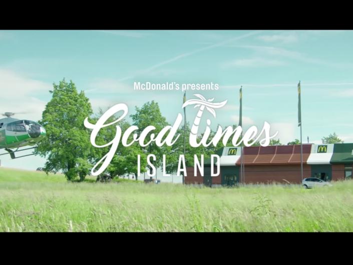 McDonald's - Good Times Island