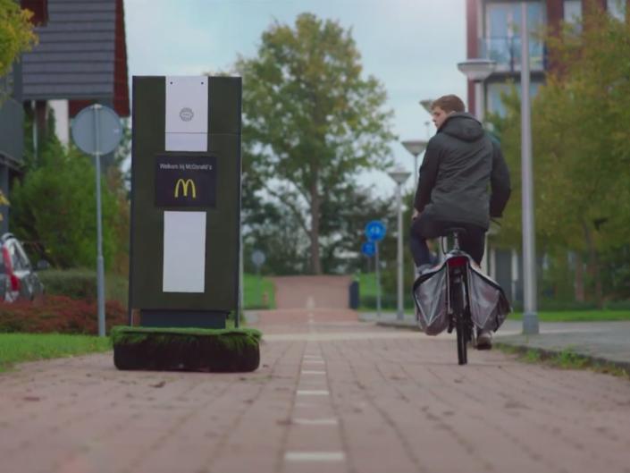 McDonald's - Bestelpaal